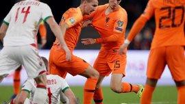 Напряженная победа сборной Нидерландов в видеообзоре матча против Беларуси – 2:1