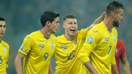 Гент поздравил сборную Украины с выходом на чемпионат Европы