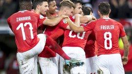 Впевнена перемога Швейцарії у відеоогляді матчу проти Ірландії