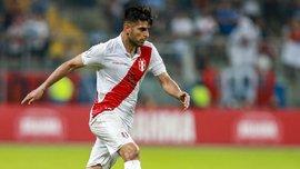 Самбрано сыграл неудачный матч за сборную Перу – динамовец получил желтую карточку и позволил забить из-под себя