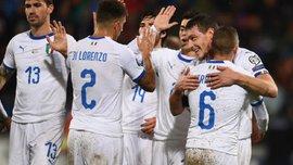 Лихтенштейн – Италия – 0:5 – видео голов и обзор матча