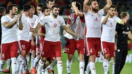 Гол екс-гравця Дніпра у відеоогляді матчу Гібралтар – Грузія
