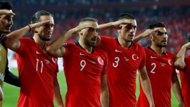 УЕФА открыл дисциплинарное дело против сборной Турции за празднование голов