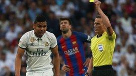 Реал успішно оскаржив жовту картку Каземіро перед матчем з Барселоною