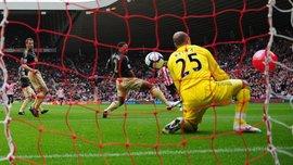 Ліверпуль 10 років тому пропустив найкурйозніший гол в історії АПЛ – ретро дня