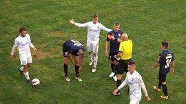 Балкани – Чорноморець: КДК прийняв рішення щодо матчу, який зірвали вболівальники