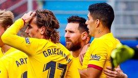 Грізманн відзначив покращення своєї взаємодії з Мессі та Суаресом – зіркове тріо Барселони розірвало Ейбар