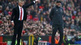 Сульшер відповів на скарги Клоппа щодо ігрового стилю Манчестер Юнайтед у матчах з Ліверпулем
