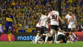 Ривер Плейт минимально уступил Бока Хуниорс, но вышел в финал Копа Либертадорес
