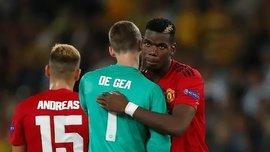 Погба і Де Хеа пропустили тренування Манчестер Юнайтед напередодні матчу Ліги Європи
