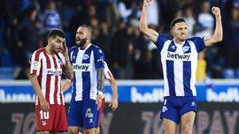 Спасительный гол экс-звезды Карпат в видеообзоре матча Алавес – Атлетико – 1:1
