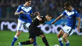 Брешия – Интер – 1:2 – видео голов и обзор матча
