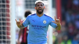 Юбилей Агуэро в видеообзоре матча Манчестер Сити – Саутгемптон – 3:1