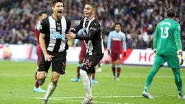 Вест Хэм – Ньюкасл – 2:3 – видео голов и обзор матча