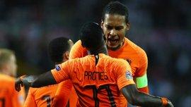Сборная Нидерландов объявила заявку на матчи отбора Евро-2020