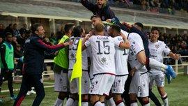Поражение команды Малиновского в видеообзоре матча Аталанта – Кальяри