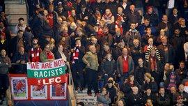 Ливерпуль наказал фаната за скандальный баннер с Ориджи