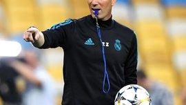 Зидан категорически опроверг слухи о разделении игроков Реала на основных и дублеров