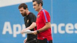 Вальверде: Вызов Месси в сборную Аргентины – не проблема для Барселоны