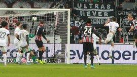 Фіаско Мюнхена у відеоогляді матчу Айнтрахт – Баварія – 5:1