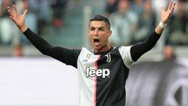 Роналду ударил локтем защитника Торино – арбитр проигнорировал грубость звезды Ювентуса