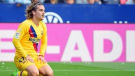 Барселона не знала, как реагировать на голы Леванте, – Гризманн