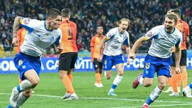 Фанаты Динамо выпустили футболки с эпическим моментом по мотивам матча киевлян против Шахтера