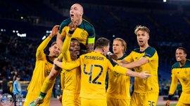 Вихід команди Шведа в плей-офф Ліги Європи у відеоогляді матчу Лаціо – Селтік – 1:2