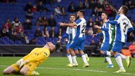 Ліга Європи: Еспаньйол знищив Лудогорець і зберігає Реброву шанси на плей-офф