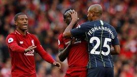 Ліверпуль – Манчестер Сіті: Фернандінью назвав бажаний підсумок центрального матчу вікенду