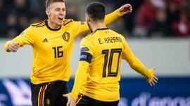 Братья Азары, Лукаку, экзотические легионеры – сборная Бельгии объявила заявку на матчи квалификации к Евро-2020