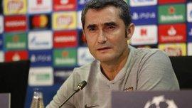 Вальверде зізнався, що керівництво Барселони висловило йому підтримку