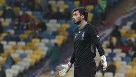 Бущан второй раз подряд взял вину на себя за пропущенный гол Динамо в Лиге Европы