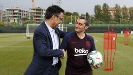 Вальверде – ідеальний тренер для нинішньої Барселони, – Бартомеу