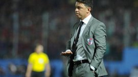 Тренер Рівер Плейта Гальярдо прокоментував чутки про свій перехід в Барселону