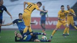 Десна – СК Днепр-1 – 1:1 – видео голов и обзор матча