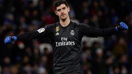 """Куртуа побил рекорд Наваса по продолжительности """"сухой"""" серии в Реале"""