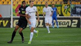 Александрия в меньшинстве удержала ничью с Олимпиком – Панькив заработал удаление уже на четвёртой минуте