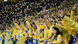 Україна – Естонія: в Запоріжжі очікується аншлаг