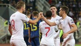Чергова феєрична перемога збірної Англії у відеоогляді матчу проти Косова