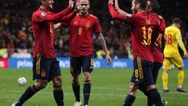 Іспанія – Румунія – 5:0 – відео голів та огляд матчу