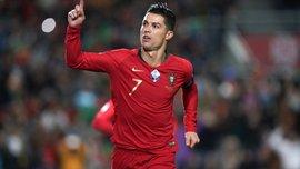 Девятый хет-трик Роналду за сборную в видеообзоре матча Португалия – Литва – 6:0