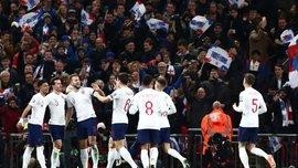 Англия – Черногория – 7:0 – видео голов и обзор матча
