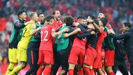 Чалханоглу ярким танцем отпраздновал выход сборной Турции на Евро-2020