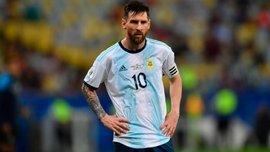 Месси забил первый гол за сборную Аргентины после дисквалификации