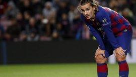 Грізманн назвав причини своєї серії невдалих матчів за Барселону