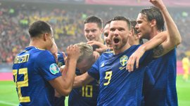 """Румунія– Швеція: топ-матч Форсберга та Берга, повний провал румунів і заслужений вихід """"Тре Крунур"""" на Євро-2020"""