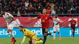 Испания – Мальта – 7: 0 – видео голов и обзор матча