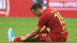 Калініч ризикує достроково повернутися з Роми в Атлетіко – італійці розчаровані грою колишньої зірки Дніпра
