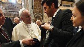 Фонсека зустрівся з Папою Римським